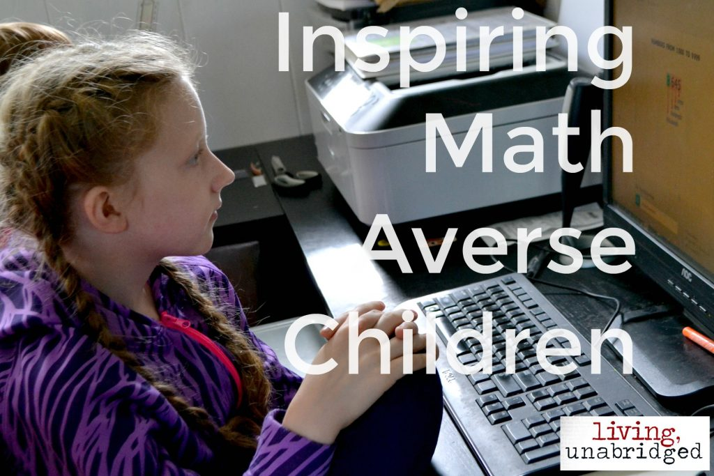 helping math averse children