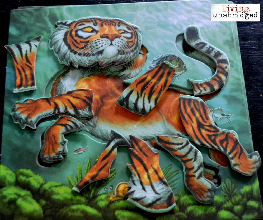 tiger stripes puzzles