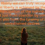 Words on Wednesday – True Liberty