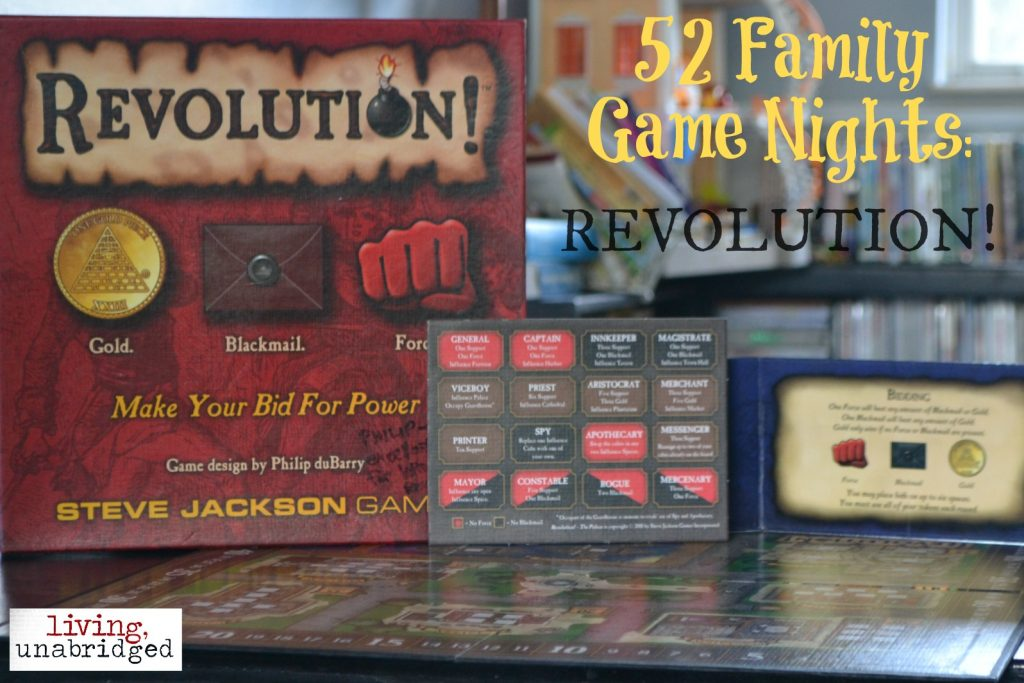 family game night revolution