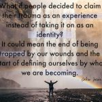 Words on Wednesday – Experience, Not Identity