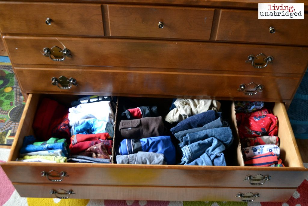 tame laundry monster: limit clothes