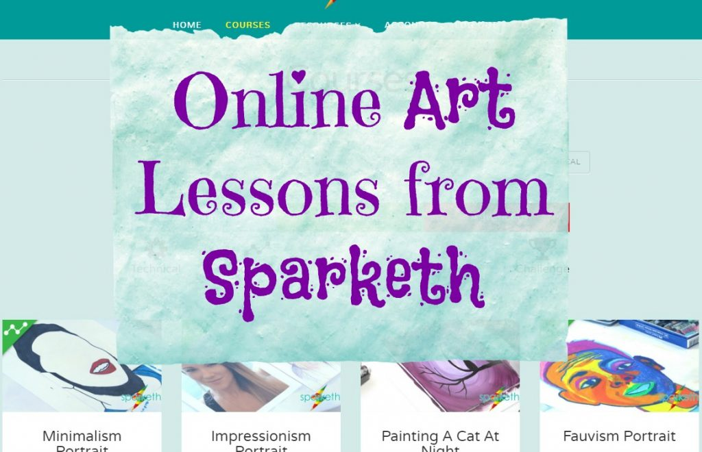 online art lessons from sparketh
