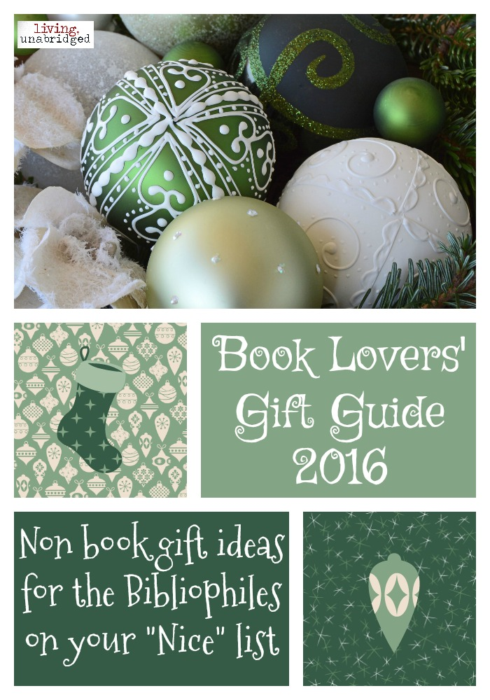 book lovers gift guide 2016 pin