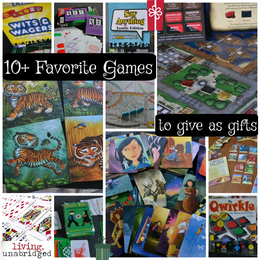 games to give as gifts