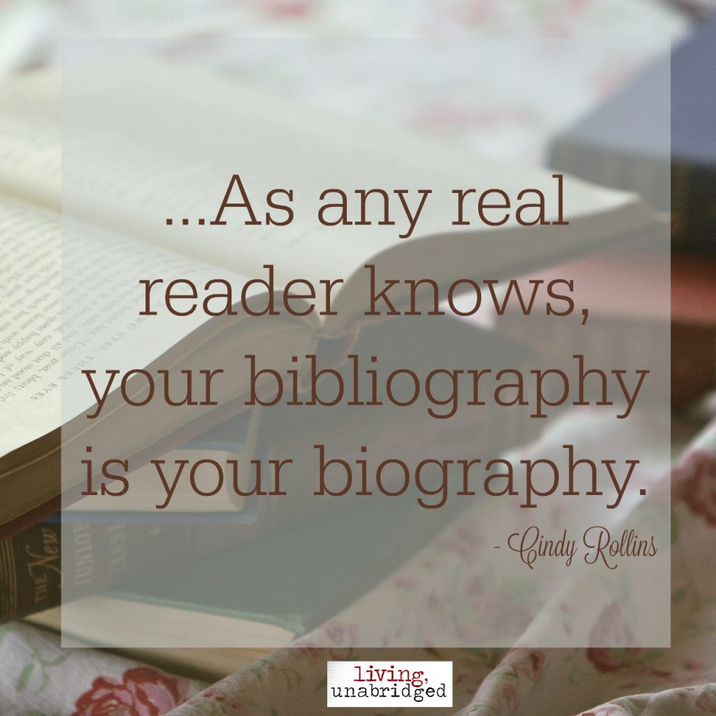 your bibliography is your biography