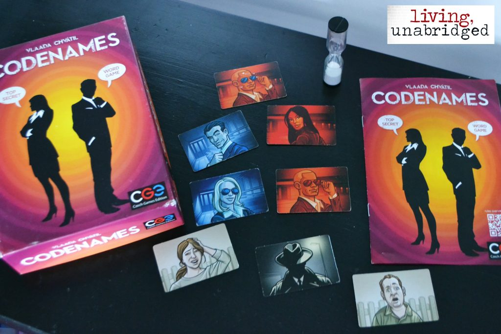 codenames spy cards