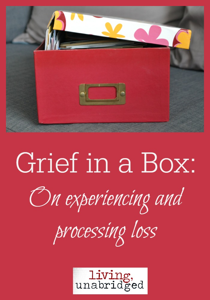 grief in a box: experiencing loss