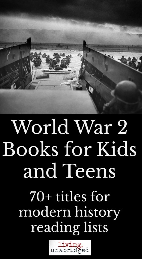 world war 2 books for kids and teens