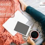 Weekend Web Wandering 2019 Vol. 11