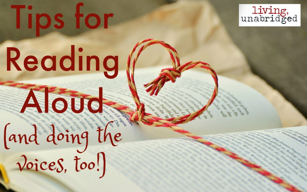 reading aloud tips