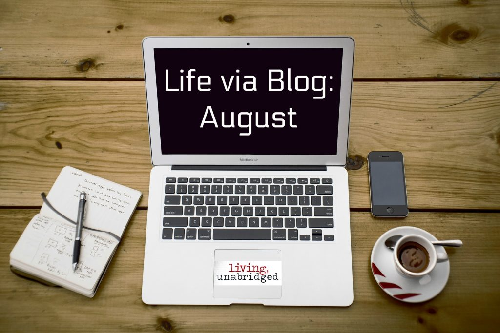 blog life august