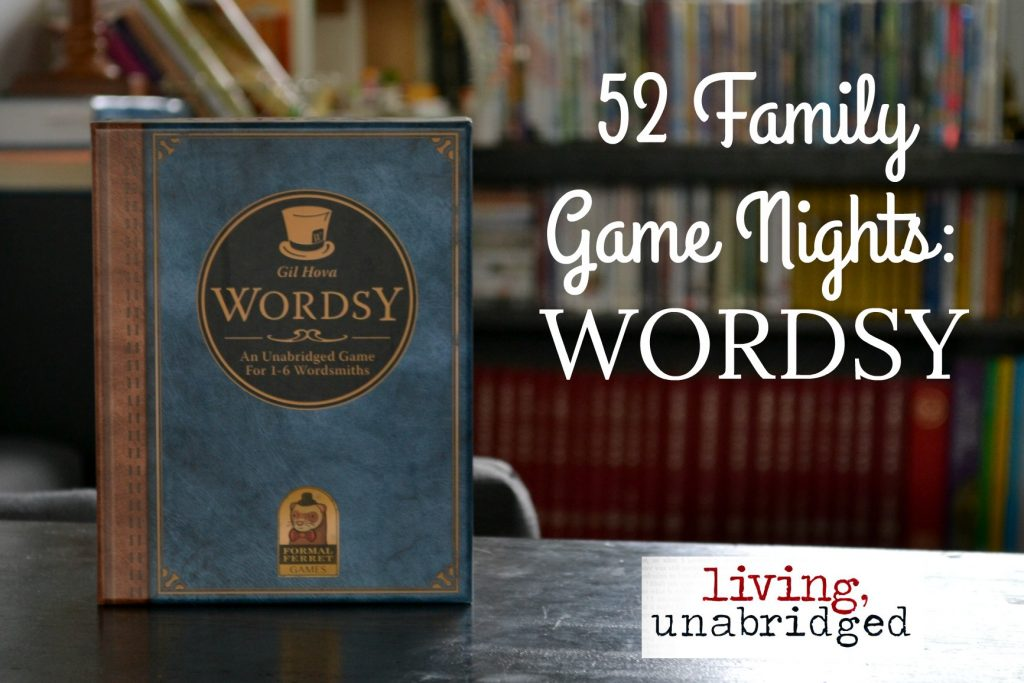 family game night wordsy