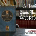 52 Family Game Nights – Wordsy