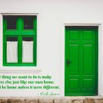 Words on Wednesday – Home is Different