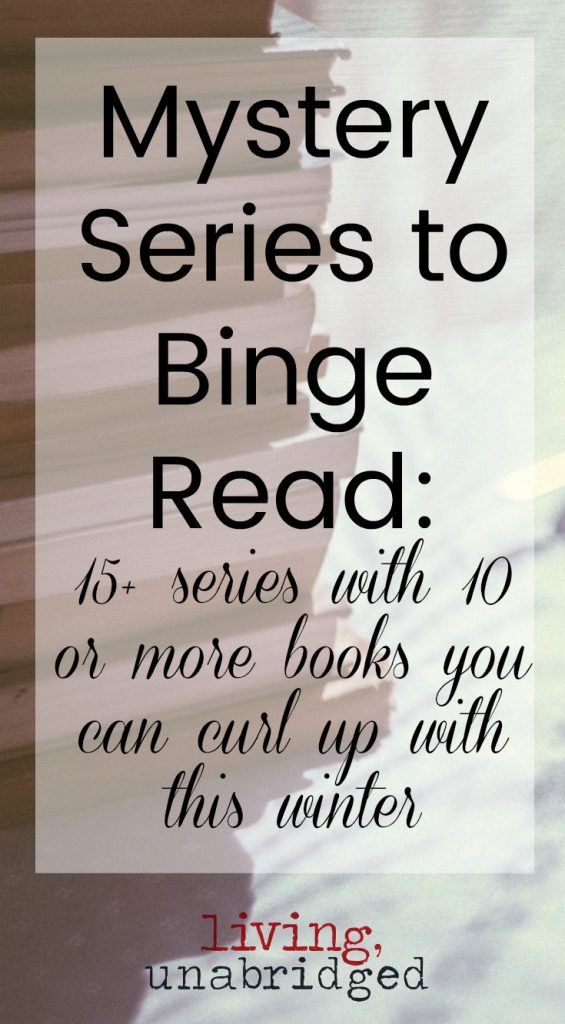 15+ mystery series to binge read this winter