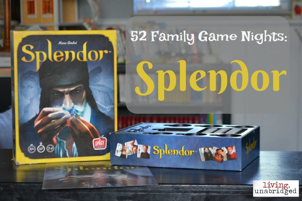 family game night splendor