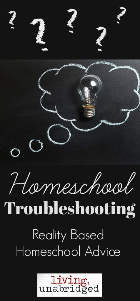 homeschool troubleshooting pin
