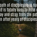 Words on Wednesday – The Discipleship Path