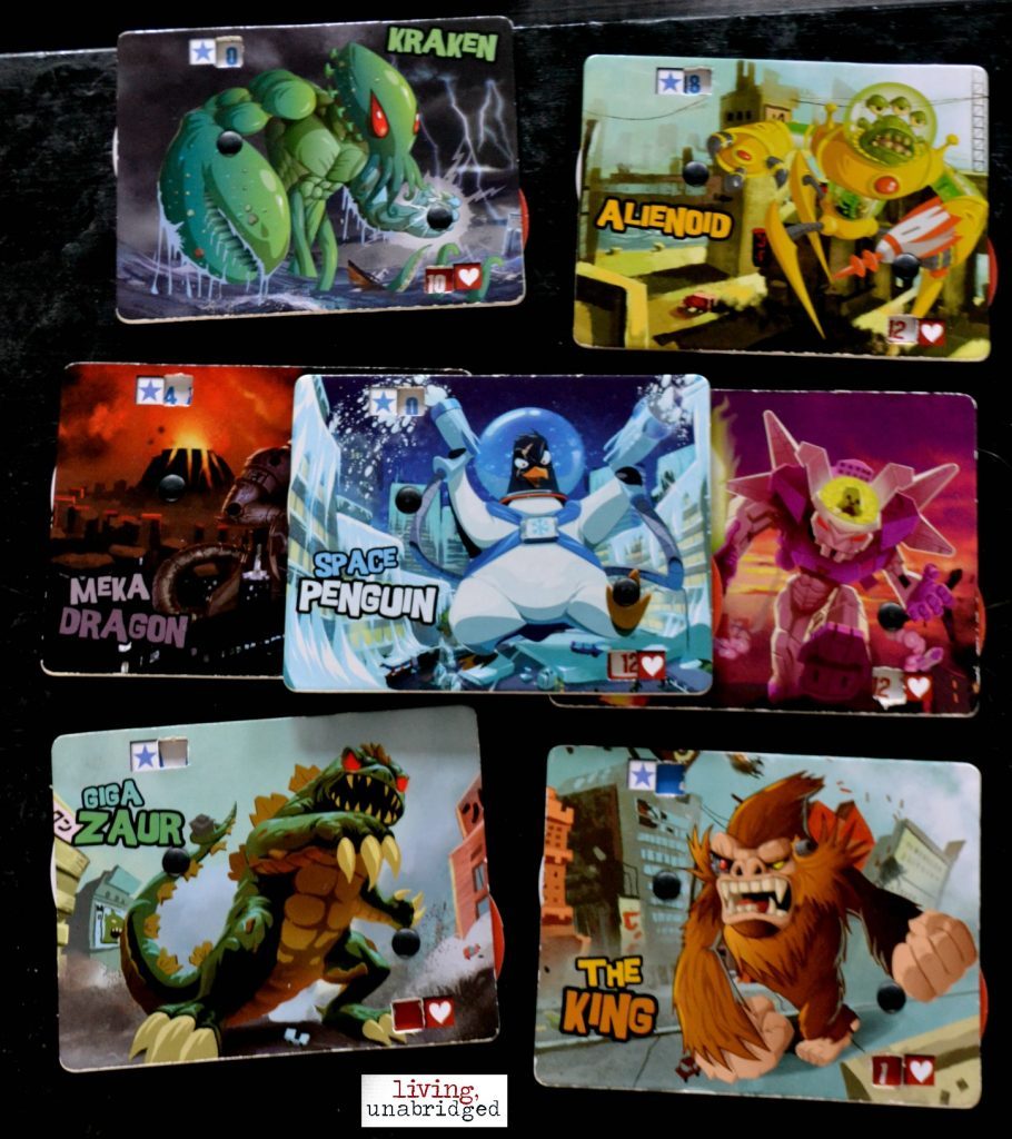 king of tokyo characters