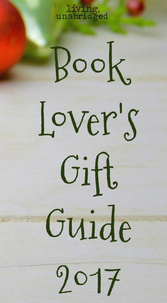 book lover gift guide 2017