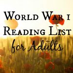 World War 1 Reading List for Adults
