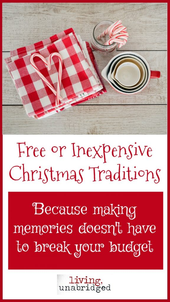 inexpensive christmas traditions