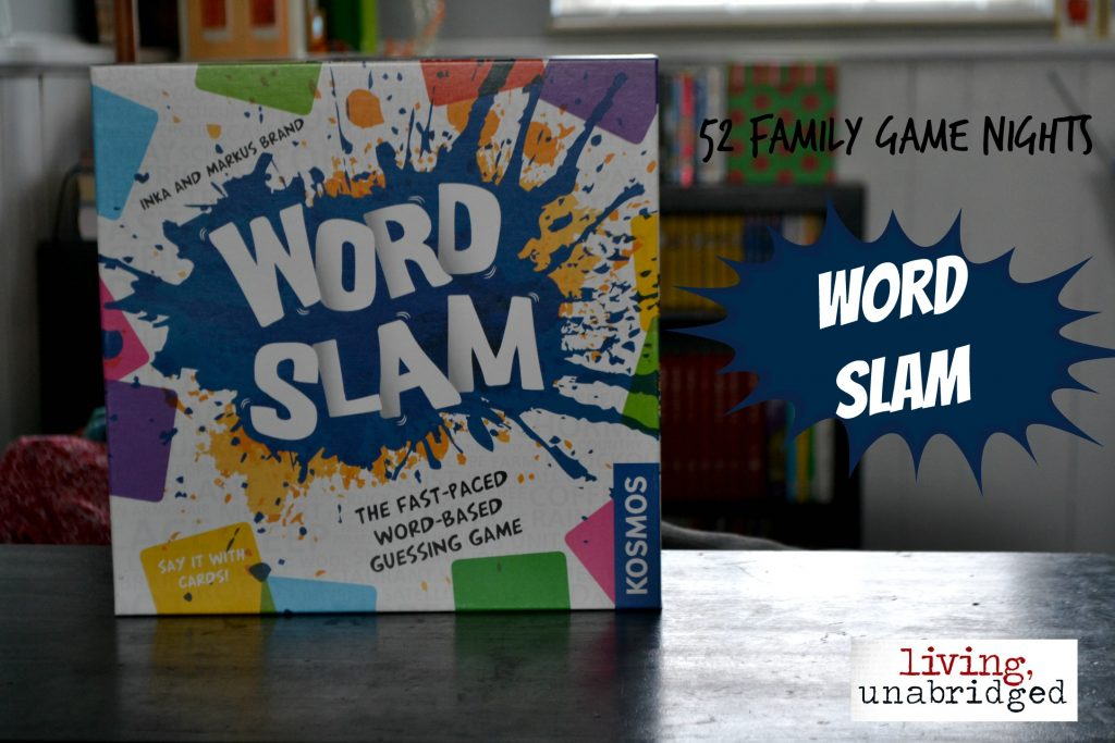 family game night word slam