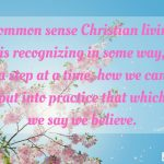 Words on Wednesday – Common Sense Christian Living