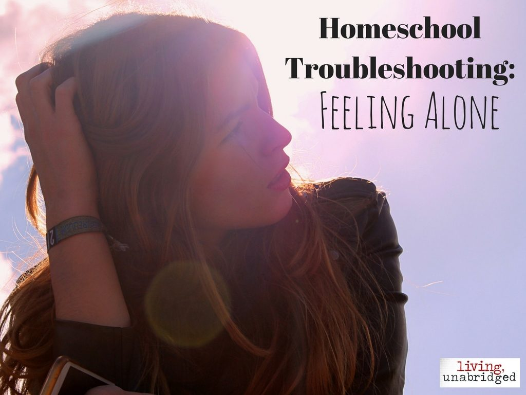 feeling alone: homeschool troubleshooting