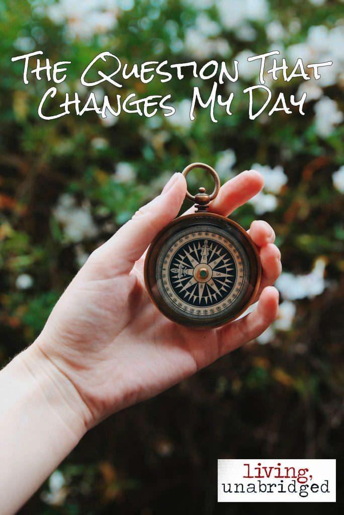 question that changes my day pin