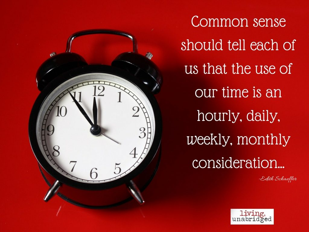 use of time is an hourly consideration