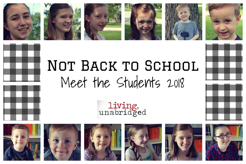 meet the students 2018