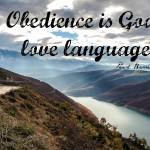 Words on Wednesday – God's Love Language