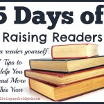 5 Days of Raising Readers: Be a Reader Yourself