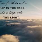 Words on Wednesday: True Faith