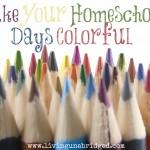 Make  Your Homeschool Days Colorful