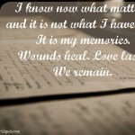 Words on Wednesday – What Matters