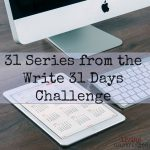 31 Series from 31Days to Follow