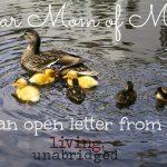 Dear Mom of Many