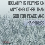 Words on Wednesday – On Idolatry