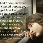 Words on Wednesday – Independence, Serenity, & Integrity