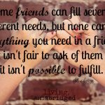 Words on Wednesday – On Friendship