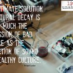 Words on Wednesday – Sound and Healthy Culture