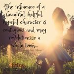 Words on Wednesday – A Beautiful, Hopeful Character