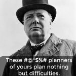Words on Wednesday – On Planning