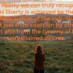 Words on Wednesday – True Liberty