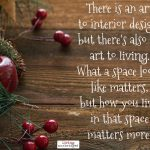 Words on Wednesday – An Art to Living