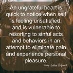 Words on Wednesday – Ungrateful Heart