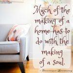 Words on Wednesday – Homemaking